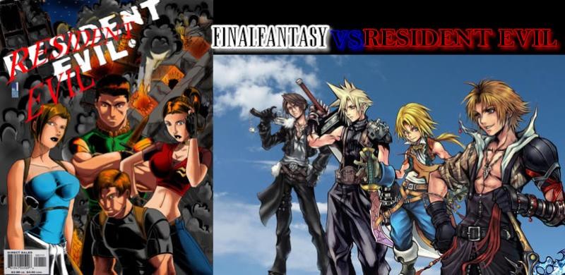 RESIDENT EVIL VS FINAL FANTASY Revsff10