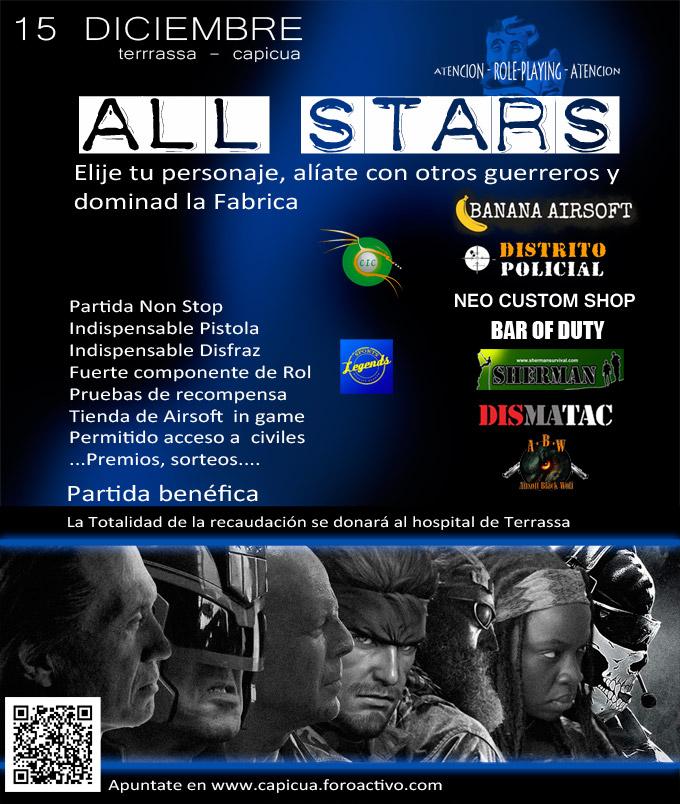 "Partida benéfica ""All Stars"" 15/12/2013 Cartel10"