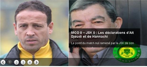 [L1, Journée 19] MC.Oran 0 - 0 JS.Kabylie (Après Match) - Page 3 20140235