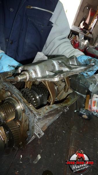 Demontage Borg Warner T5 [BV CJ7 DIESEL/2.0L ESSENCE] P1110922