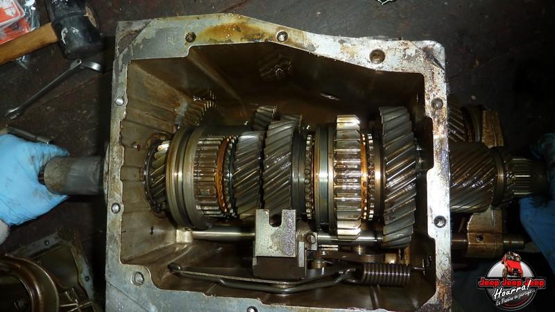 Demontage Borg Warner T5 [BV CJ7 DIESEL/2.0L ESSENCE] P1110926