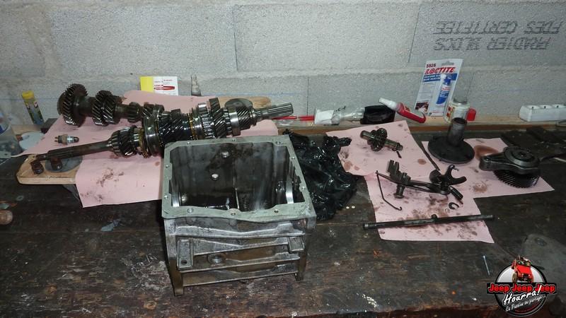 Demontage Borg Warner T5 [BV CJ7 DIESEL/2.0L ESSENCE] P1120055