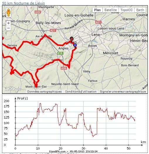 50 km nocturnes de Liévin (59): 13 avril 2014 50km_l11