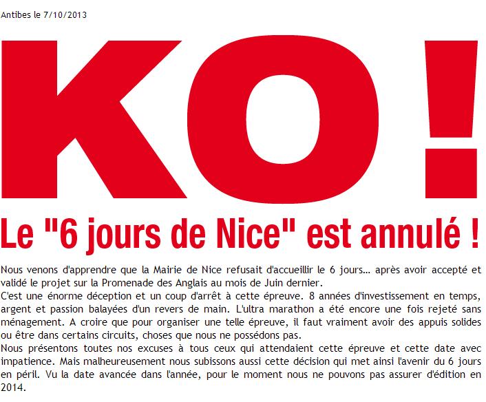 6 jours de Nice : avril-mai 2014:  ANNULE 6_jour10