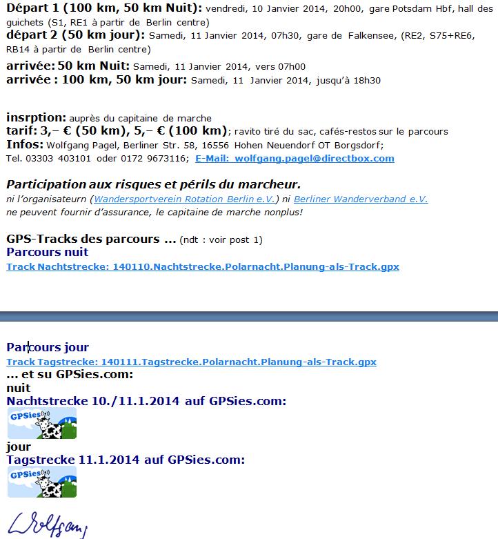 Berliner Polarnacht, 100 / 50 km : 10-11 janvier 2014 Berlin12