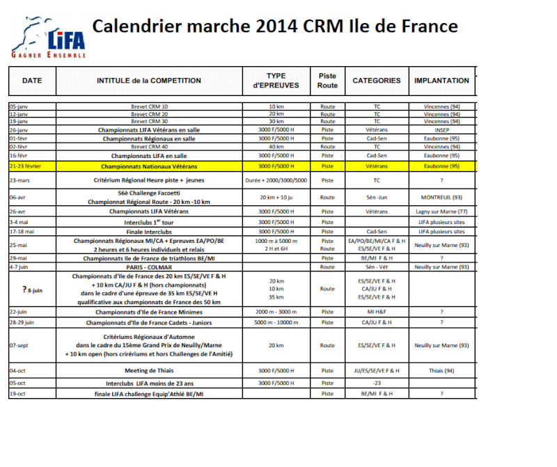 calendrier Ile de France 2014 Calend10