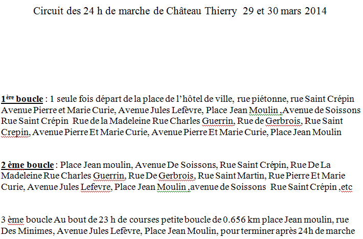 24 heures de Chateau-Thierry: 29-30 mars 2014 Chatea17