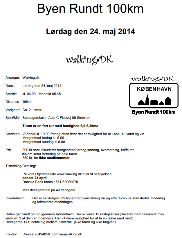 NEW! 100 km de Copenhague (DK): 24-25 mai 2014; 40 places Copenh10
