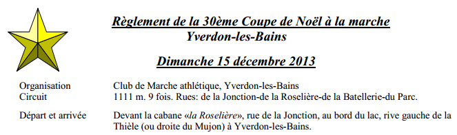 Coupe de Noël à Yverdon (Suisse), 10km: 15/12/2014 Couoe_10