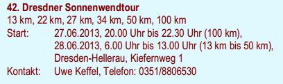 100 km du Solstice à Dresde (D): 28-29 juin 2014 Dresdn10