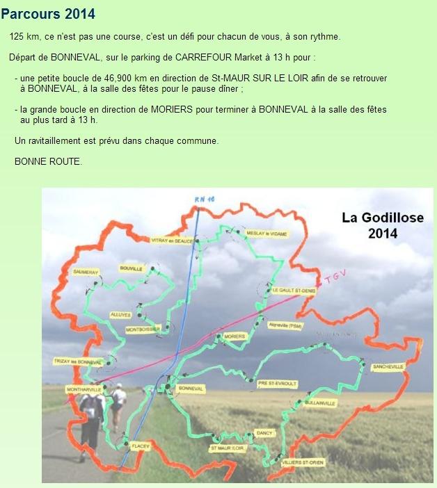 La Godillose (de 1 à 125 km); Bonneval (28): 14-15 juin 2014 Godill10