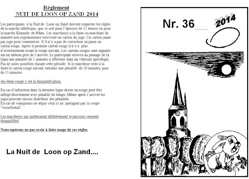 Nuit de Loon op Zand (NL): 15 heures ou 80km: 05-06/04/2014 Loon_o10