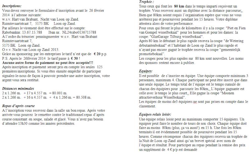 Nuit de Loon op Zand (NL): 15 heures ou 80km: 05-06/04/2014 Loon_o13