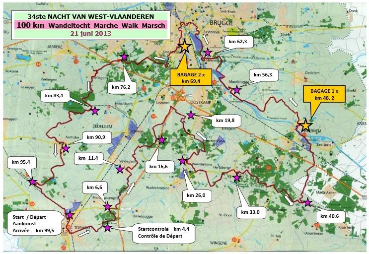 Nuit des Flandres (100km/24h); Torhout (B);  20-21 juin 2014 Nuit_d10