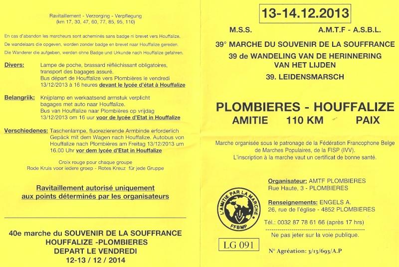 Plombières-Houffalize (B); 110km: 13-14 décembre 2013 Numari25