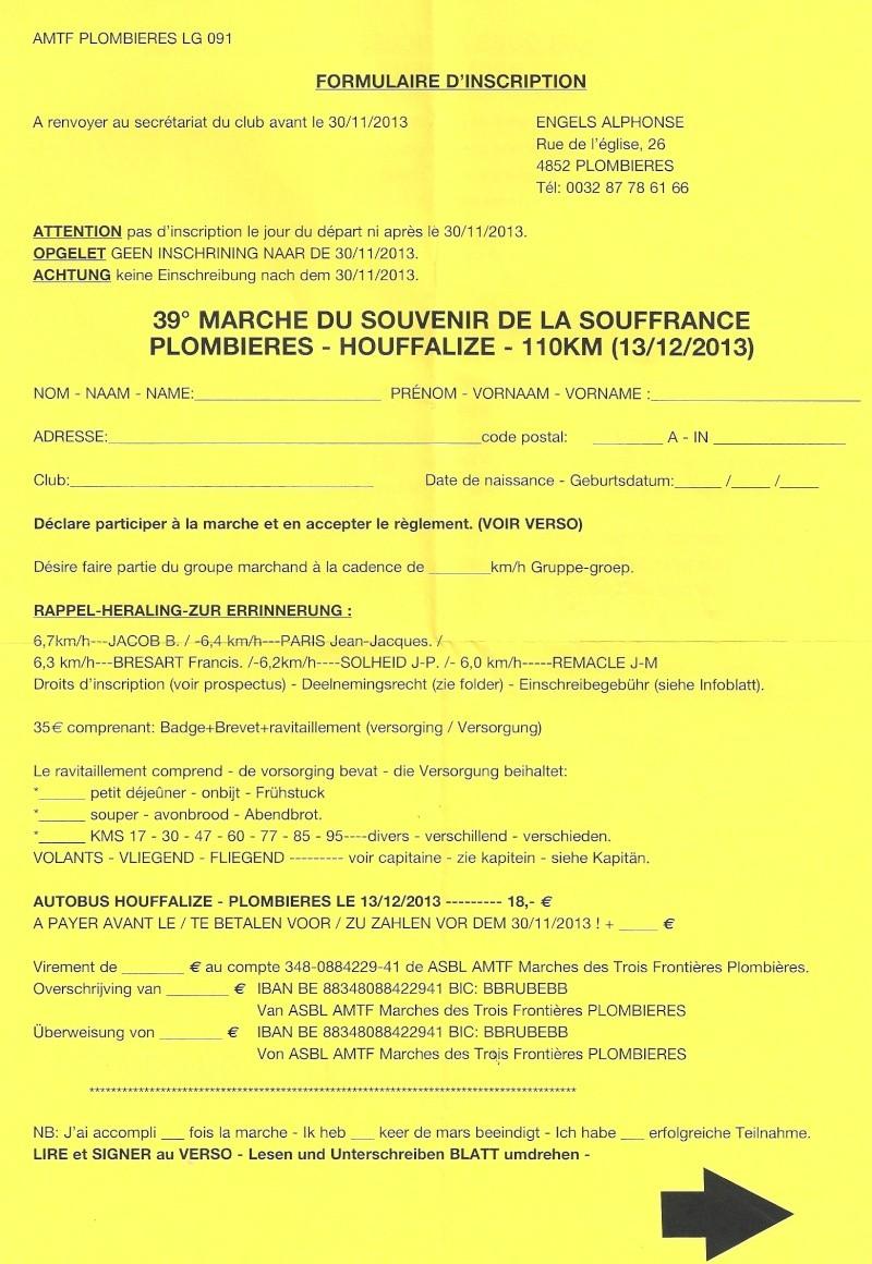 Plombières-Houffalize (B); 110km: 13-14 décembre 2013 Numari28