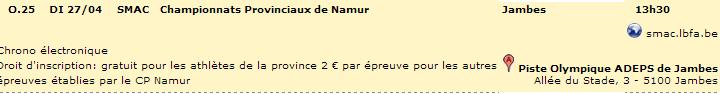 Chpt Provinciaux Namur: 1h: 27 avril 2014 Smac_210