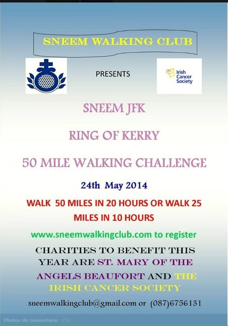 Sneem JFK 50 Mile Walking Challenge: 24-25 mai 2014 Sneem_10