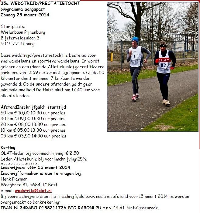 Tilburg (NL): 50km, 30km, 20km, 10km, 5km : 23 mars 2014 Tilbur10