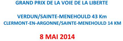 Grand Prix Voie de la Liberté (43 km): 8 mai 2014 Verdun10
