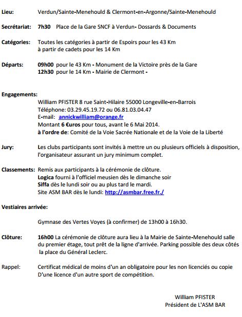 Grand Prix Voie de la Liberté (43 km): 8 mai 2014 Verdun11