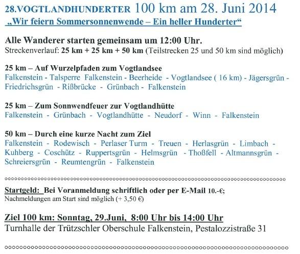 100 km d'été dans le Vogtland (Allemagne): 28-29 juin 2014 Vogtla13