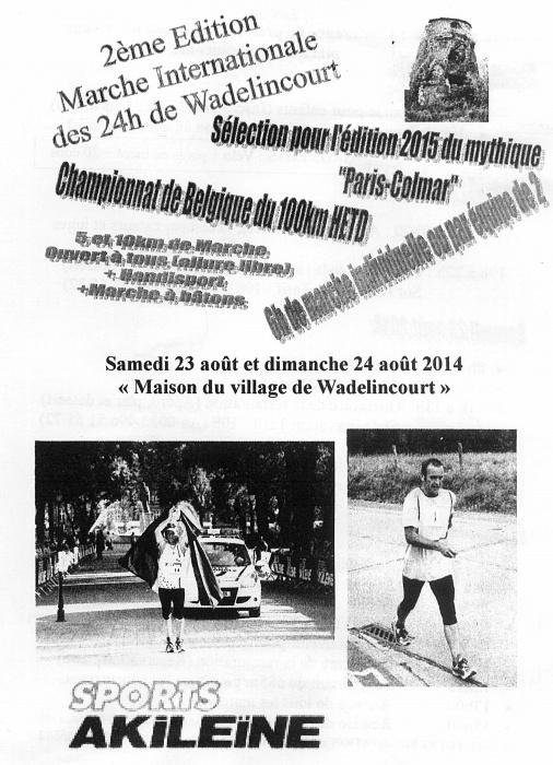 24 heures de Wadelincourt (B): 23-24 août 2014 Wadeli10