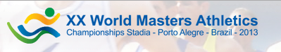 World Master Athletics; Porto Alegre (Br); 16-27 / 10 / 2013 Wma_2010