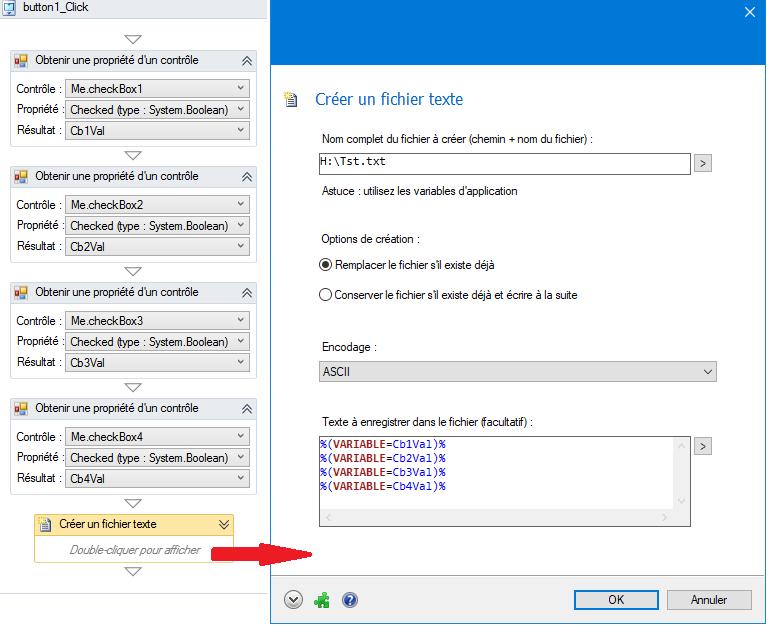 Cree un bouton «nouveau» sur softwareZator Sz11