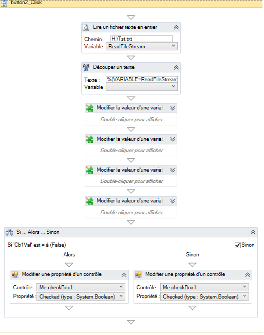 Cree un bouton «nouveau» sur softwareZator Sz211