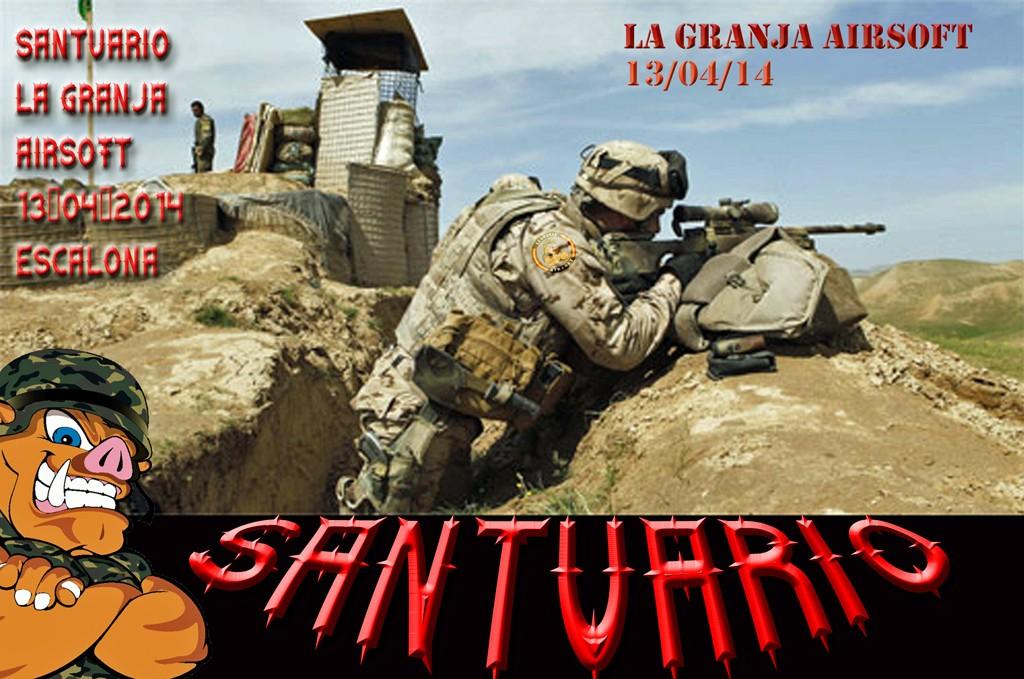 13/04/14 El Santuario - La Granja Airsoft - Partida abierta Santua10