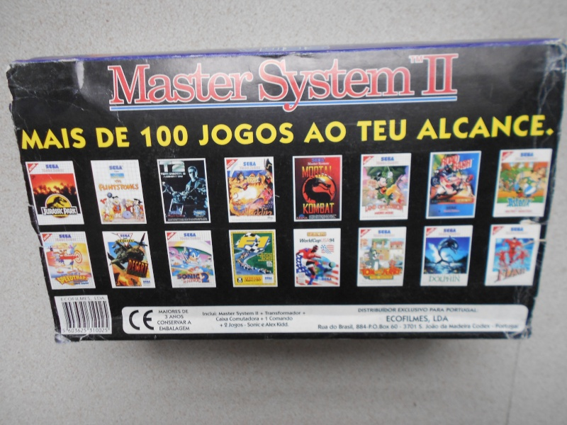 Warriors 33 Collection Sega master System  Photo123