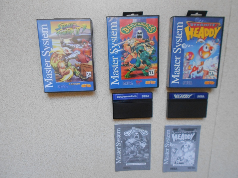 Warriors 33 Collection Sega master System  Photo_18