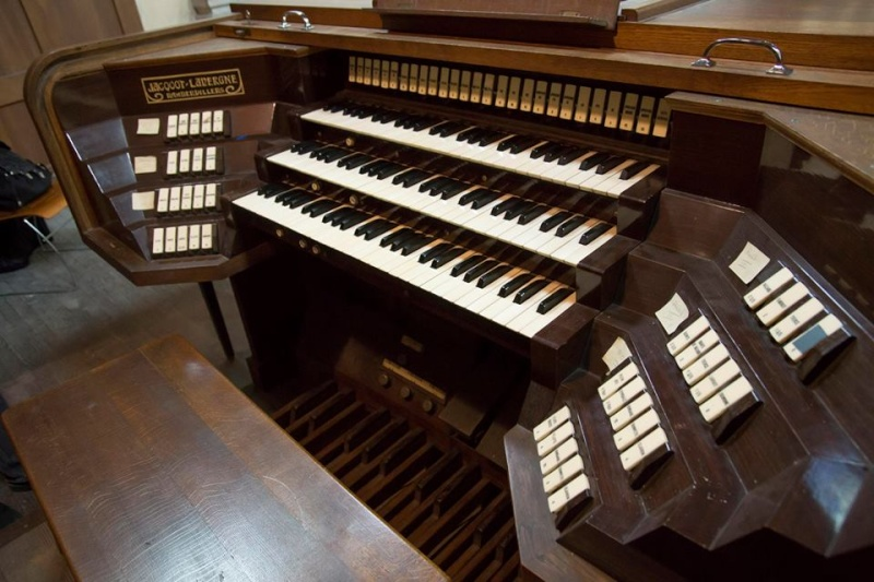 Grand-Orgue Jacquot-Lavergne (1958) d'Albert (Somme) Co10