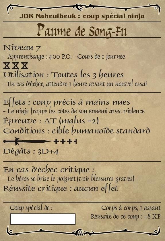 Salamander, Le Ninja Pyromane Coup_s10