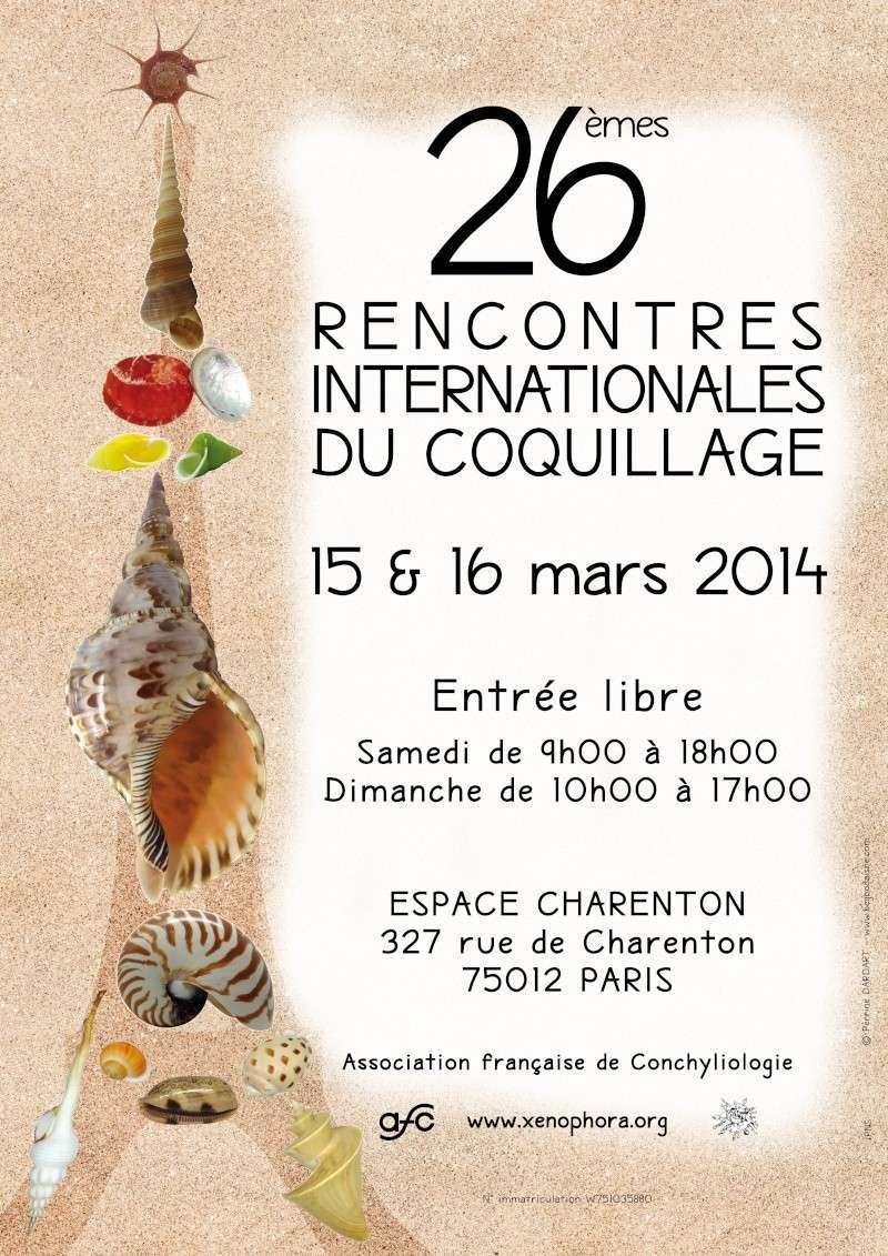 2014 Bourse internationale de Paris - 15 & 16 mars Affich11