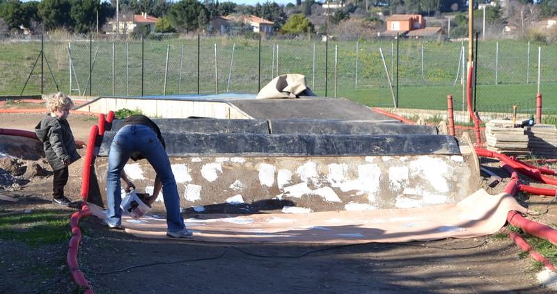 Scéance travaux le Dimanche 09 Février 0212
