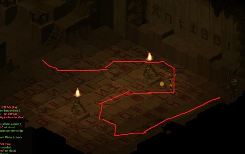 Temple Bwork: énigme du labyrinthe Quete_10