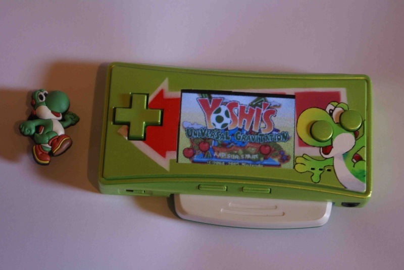 -= CUSTOM GAME BOY (Fat, Pocket et Color) =-  Gbamic10