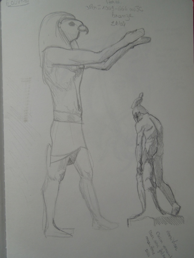 du noir au blanc - Page 5 Horus_10