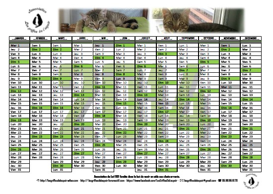 Calendriers 2014 Modale12