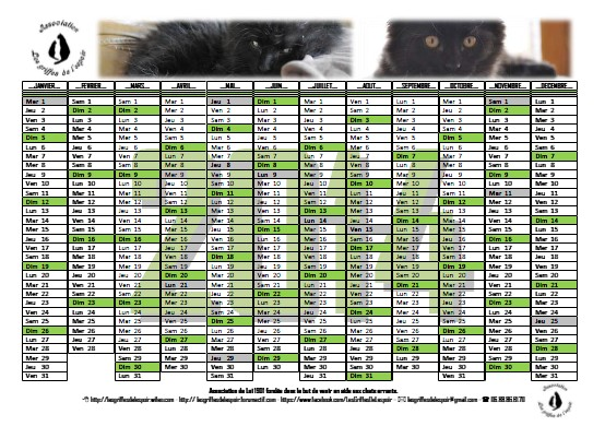Calendriers 2014 Modale16