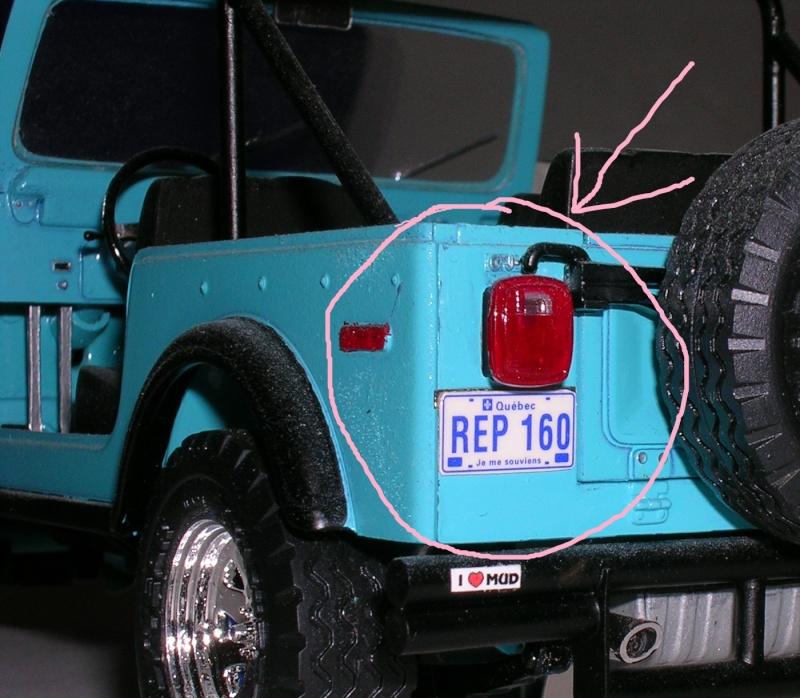 Plaques Québécoises Jeep3a10