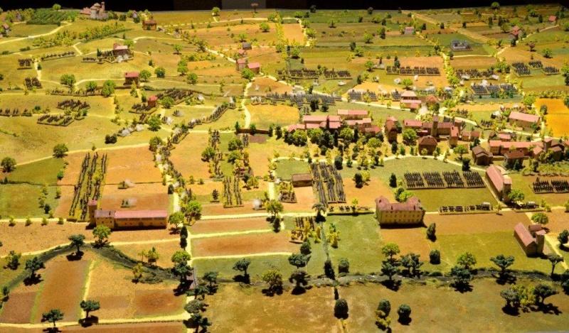 DIORAMA della battaglia di Montebello ora esposto al Museo del Risorgimento di Udine 1859_l10