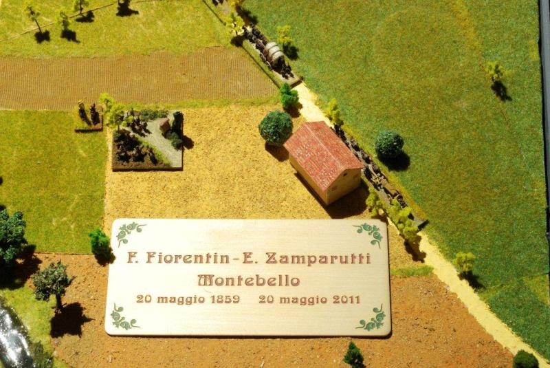 DIORAMA della battaglia di Montebello ora esposto al Museo del Risorgimento di Udine 1859_l11