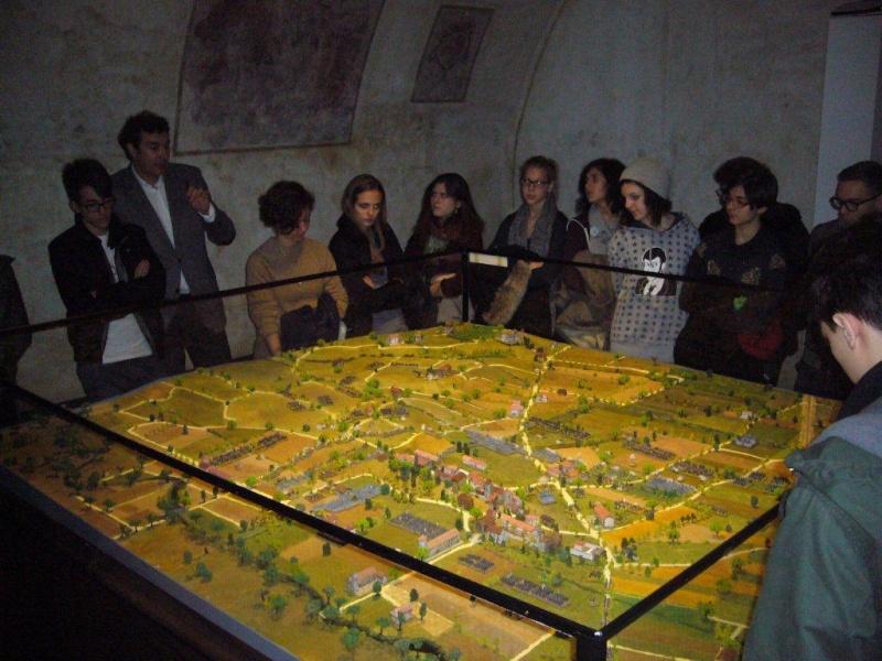 PRESENTAZIONE DEL DIORAMA DI MONTEBELLO AL MUSEO DEL RISORGIMENTO DI UDINE 4_lice10