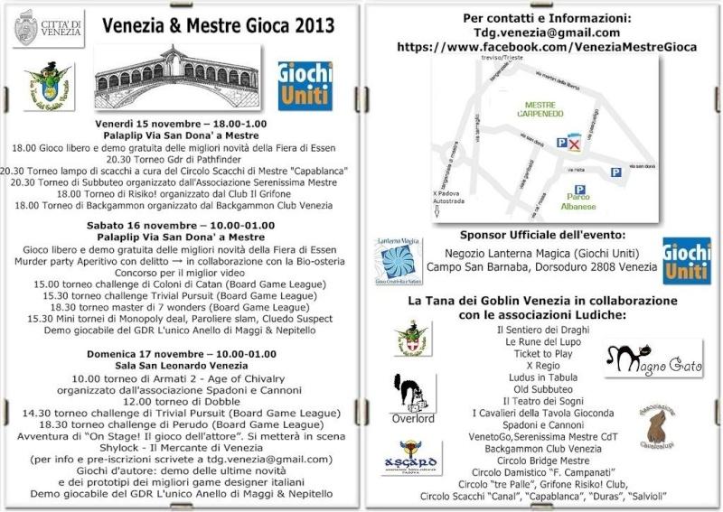 VENEZIA & MESTRE GIOCA! Progra10