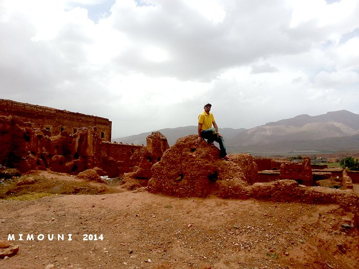 Suivez Mimouni junior sur les traces de nos ancestres Amazigh , Marrakech Merzouga Rissani dades Mimoun33