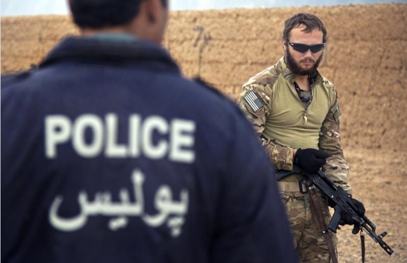 Afghan National Police Windbreaker Screen15
