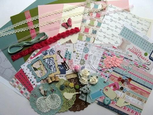 Kit du mois - Carterie : Sew Lovely 2014_k21